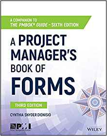 A project managers's book of forms